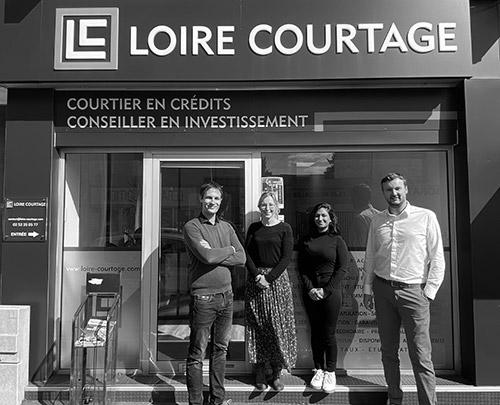 Equipe de Loire Courtage Angers