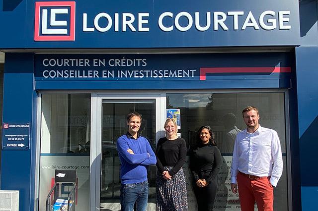 L'agence Loire Courtage ouvre ses portes Rue Saumuroise à Angers