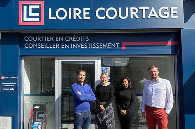 Agence de courtiers à Angers